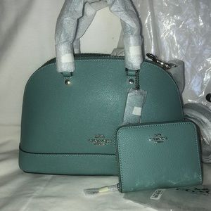 NWT AUTHENTIC Leather Coach Set